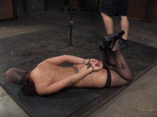 SexuallyBroken - Nov 09, 2015 - Immense jugged marvelous Cougar Syren de Mer in relentless live act tied