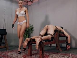 Cruel Punishments - Mistress Anette - Triple cruel punishment part 1