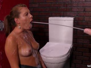 Domme Makes Her Friend Fuck Goo Spraying Dildo - Full HD 1080p