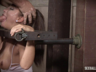 Gabriella Paltrova is back and enduring under the restrain bondage and cock!