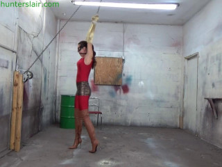 HunterSlair - Ren Smolder - Strung up by her wrists