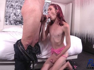 Crystal Thayer - Big Dick Escort Shows Off Her Goods