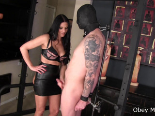 Hardcore Bondage Kissing - Obey Melanie - Full HD 1080p