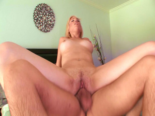 Victoria Milky takes giant dick from her stepbrother
