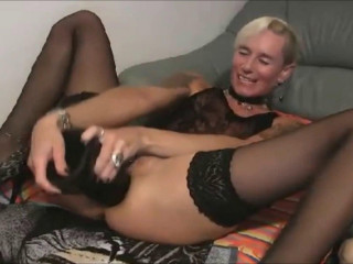 Informal lady fuck themselves with fucktoys