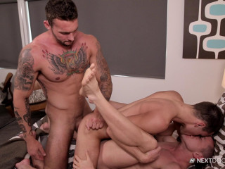 Logan Cross, Steve Rogers, Cameron Dalile