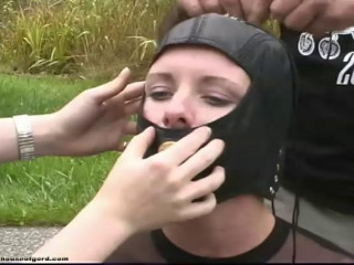 Fayth on Fire - Chick Wrapper Hogtied (Installation)