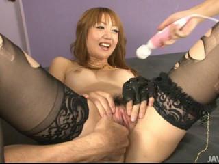 Yuki Mizuho - Double penetration For Cougar Yuki Mizuho Completes In A Internal ejaculation