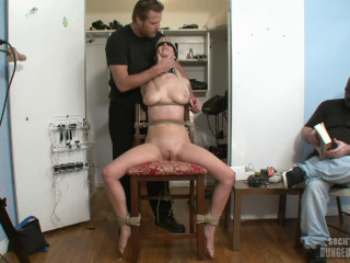 Cock-squeezing bondage, spanking and torture for horny towheaded part 1 Utter HD 1080p