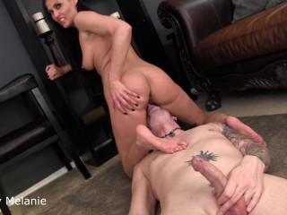 Obey Melanie - F bi cuckold training