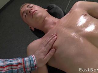 EastBoys - Big Dick Oil Massage - Handjob