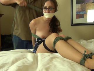 Bound And Gagged For Pleasure  Porn part 35