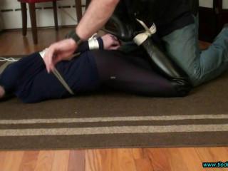Rachel Lilly Tied in OTK Boots!