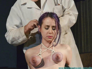 A Lengthy Day of Firm Restrain bondage for Rachel - Dr. Ropes Penalized 2 part - Domination & submission