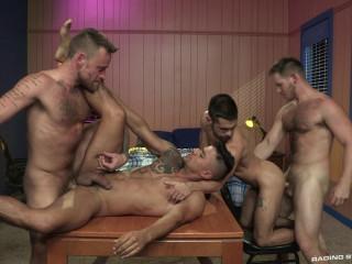 Foursome Flip-Flop Orgy
