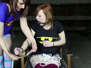 Bondage in The Chair