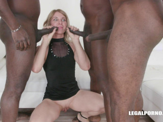 Sindy Rose triple anal anal acrobatic games (2019)