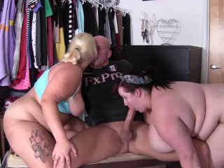 Eliza Allure &  Jade Rose skip their workout to get laid
