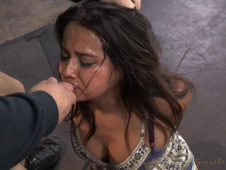 Fresh faced Latina Selma Sins gets railed by 2 guys