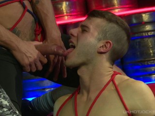 Allen King Trussed & Strapped By Nick North