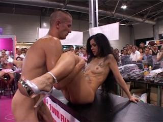 Porn exhibition