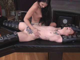 Tickle Abuse - Topless Jade, Naked Stacie