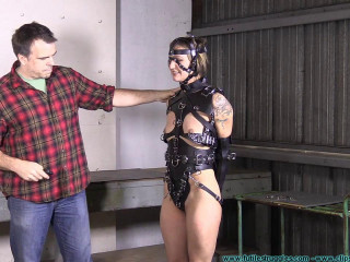 The Rights Activist Teaches IR a Lesson part 3 - Extreme, Bondage, Caning