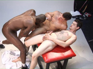 Sizzling interracial fuck collection