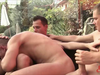 Tommy Hard, Luke Besson and Vic Degai