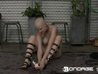 Greyhound Does Self-Bondage - Rachel Greyhound - HD 720p