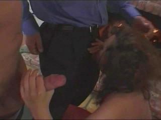 Double penetration for the slut