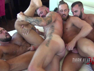 Gang Poke For Cock-squeezing Donk