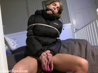 Winter Jacket Bondage - Part 2 of 2