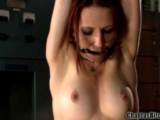 Assfuck Bondage & discipline Hook In Action