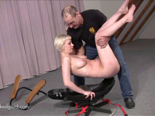 Office Chair Gets Fucked part 1