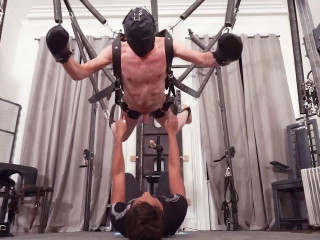Troy Orleans and the Spring Suspension Rig