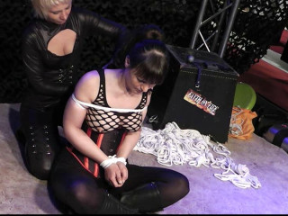 Tied by and with Lena King - Scene 1