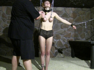 Breast Predicament and Whipping Session for Muriel