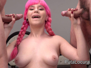 Pink Charlotte Swallows All Sperm