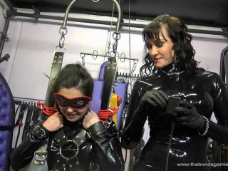 Subgirl Sherry in The Sybian Pt 1-2