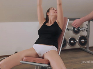 At the Gym (Josephine aka Connie Carter)