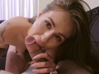 Linsey Lust - Hot Brunette Takes It In The Ass With Lube