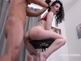Mr. Anderson Anal Casting Black Angel Ball Deep Action Atm Rough Sex