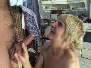 Granny is a slut... She fucks for money!