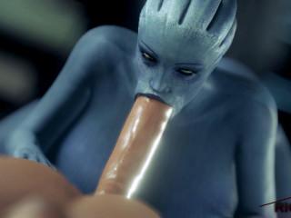 Blue Liara's Lust - Full HD 1080p