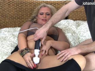 Magdalena - dildoshow och knull