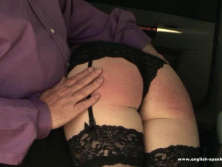 English-spankers - Hotwife the Cab