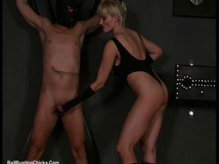 Ballbustingchicks - Monika - CumWith Your Tortured Dick - pt2