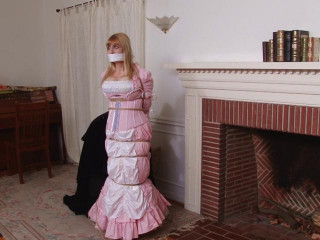 Pink Damsel in the Fireplace Lorelei and Jon Woods