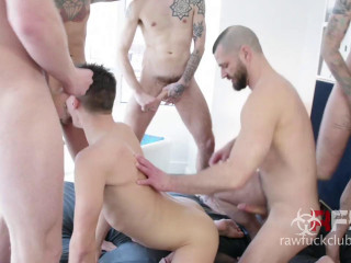 Dakota Wolfe Gang Bang - Part 1